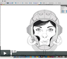 Видео: Как нарисовать лицо в Illustrator