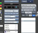 Элементы интерфейса Mac, iPhone и iPad PSD