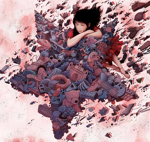 Мистический Восток в иллюстрациях Yuta Onoda
