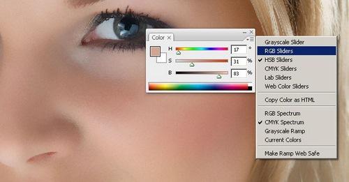 Как в фотошопе сделать цвет кожи одинаковый